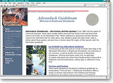 Adirondack Guideboats Website