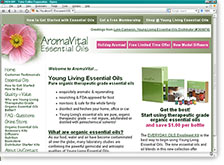 AromaVital Website
