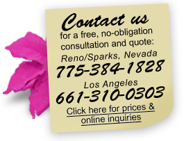 Call for a free consultation and quote
