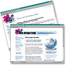 Go to DianeV Web Design Help